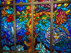 St Andrews URC Gerrards Cross stained glass window