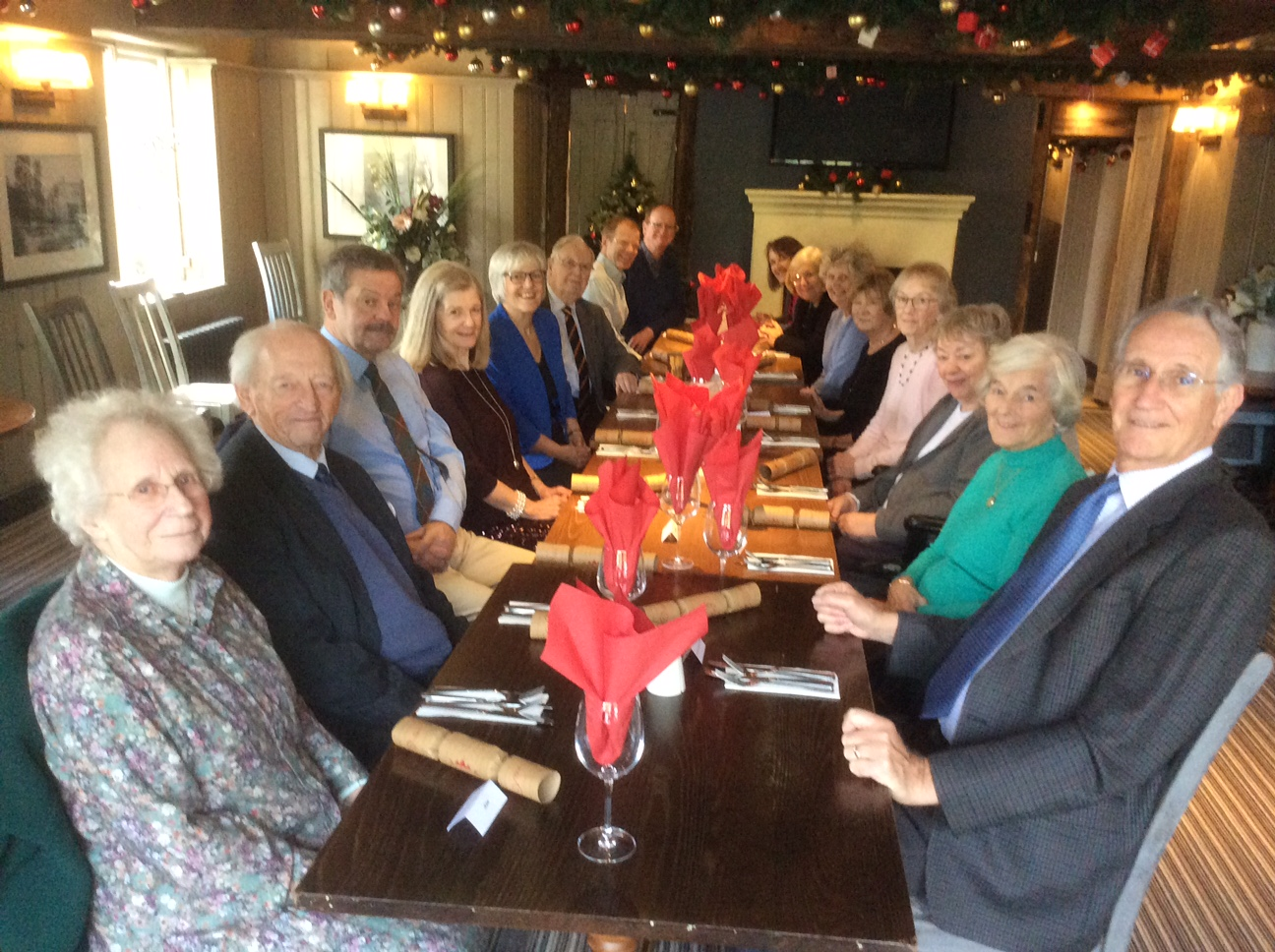 St Andrews URC Family Christmas meal